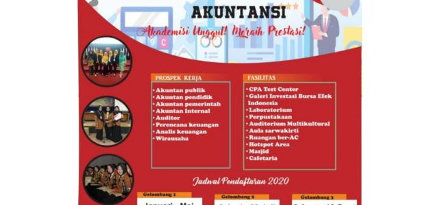 Pendaftaran Mahasiswa Baru Program Studi Akuntansi